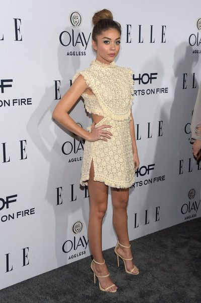 Sarah Hyland attends ELLE's 6th Annual Women In Television Dinner