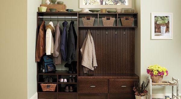 16 Fascinating Foyer Closet Organization Ideas