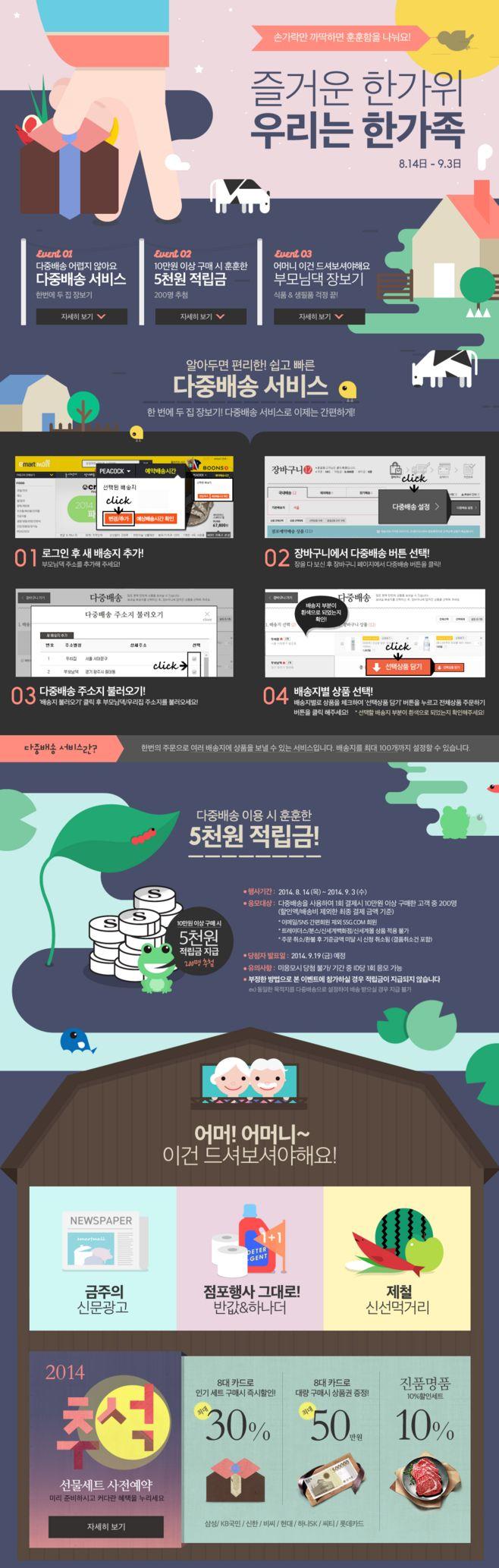 이벤트 > 부모님 대신 장보기 ...@筱暁采集到UI . Events. Korea(478图)_花瓣UI/UX