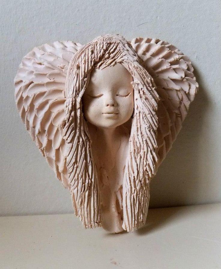 Ceramiczny anioł/ Ceramic angel