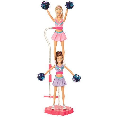 barbie i can be cheerleader doll giftset - mattel