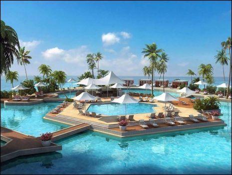 Beach resort (266 pieces)