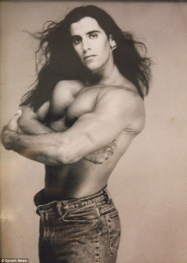 I was Magic Mike: This was Michael Sorrentino in the late 1990s when he was an exotic danc...
