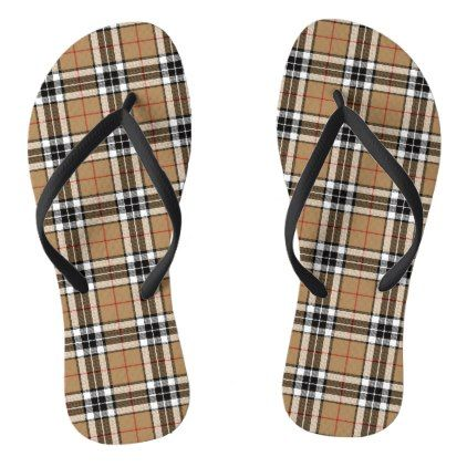 Thomson Camel Flip Flops - black gifts unique cool diy customize personalize