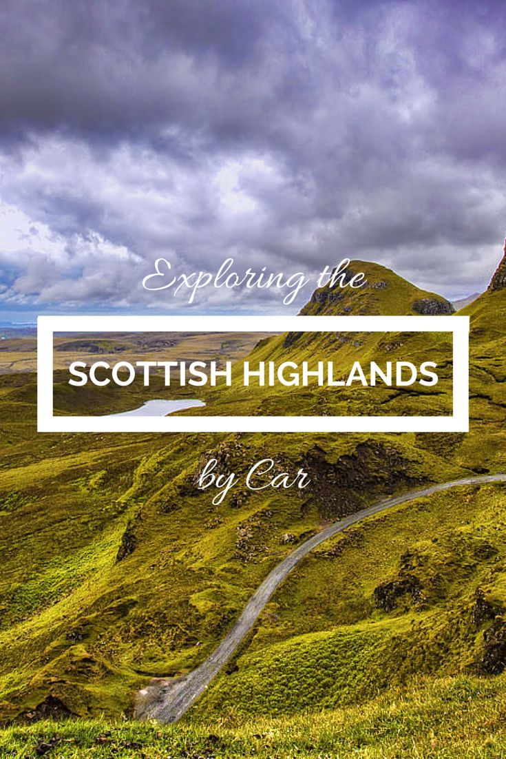 Exploring the Scottish Highlands by Car
