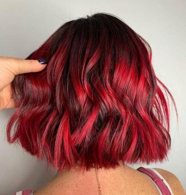 60 Most Gorgeous Hair Dye Trends For Women To Try In 2021 In 2020 Short Red Hair Hair Styles Red Ombre Hair