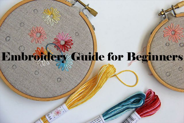 Embroidery Guide for Beginners | DIY and Crafts