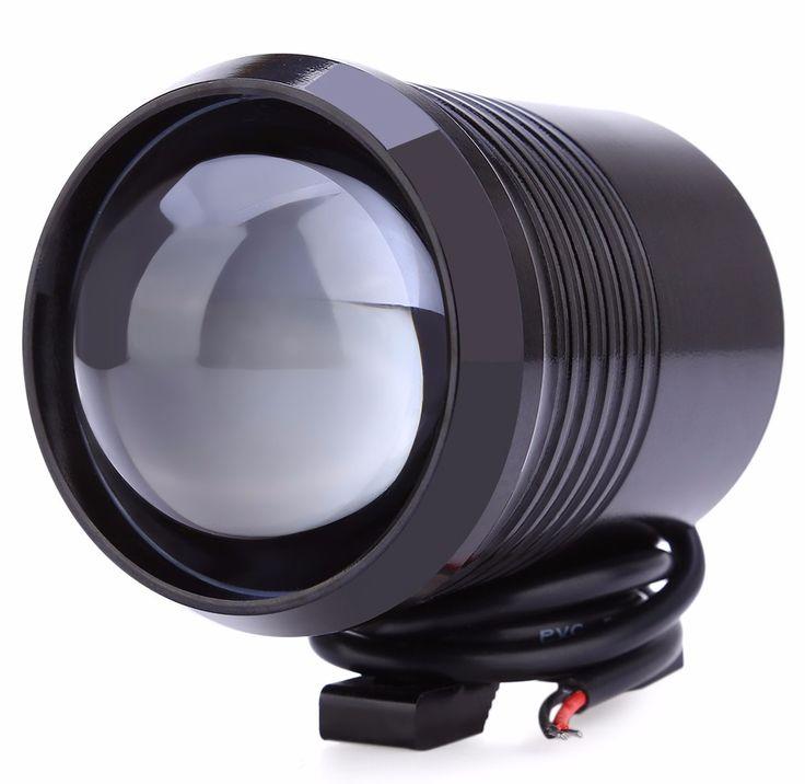 1200LM 30 W U2 Atas Balok Rendah Motor Motorbike Headlight LED Mengemudi Fog Spot Kepala Bulb Kendaraan Cahaya Lampu Headlight
