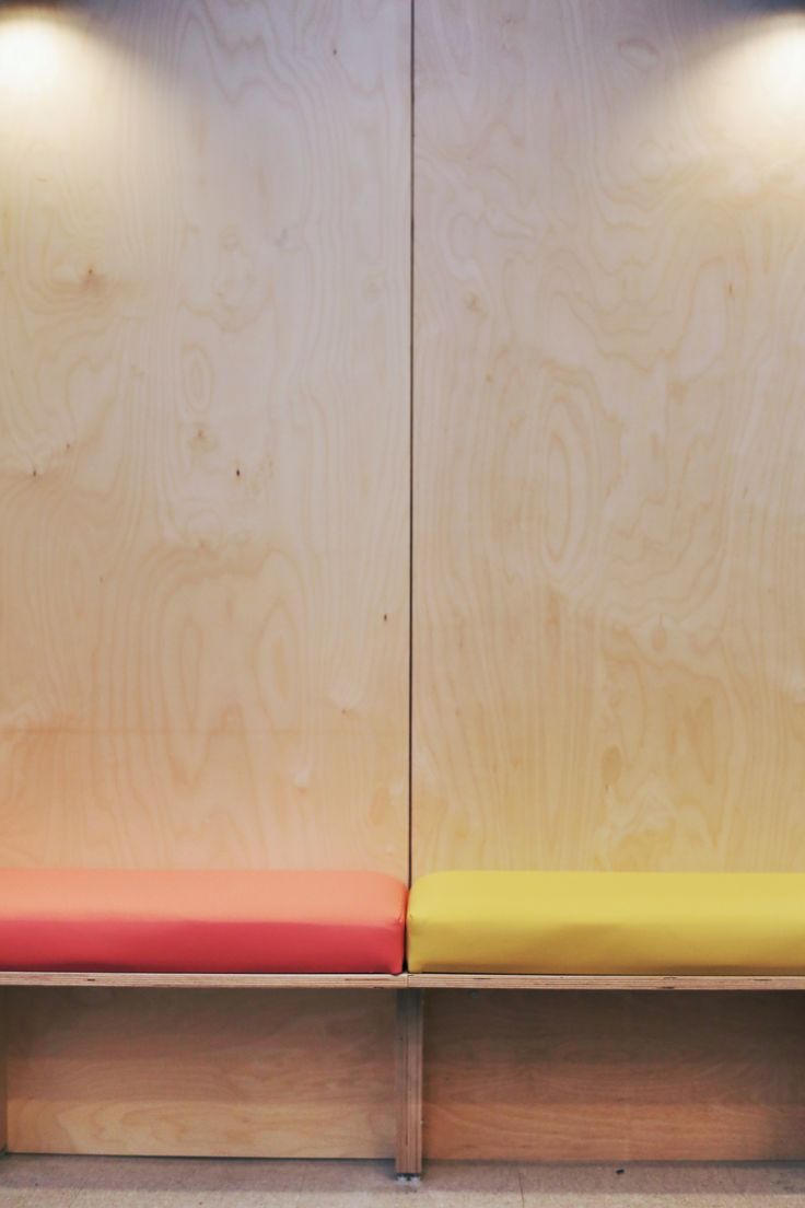 Detail Plywood Banquette Design