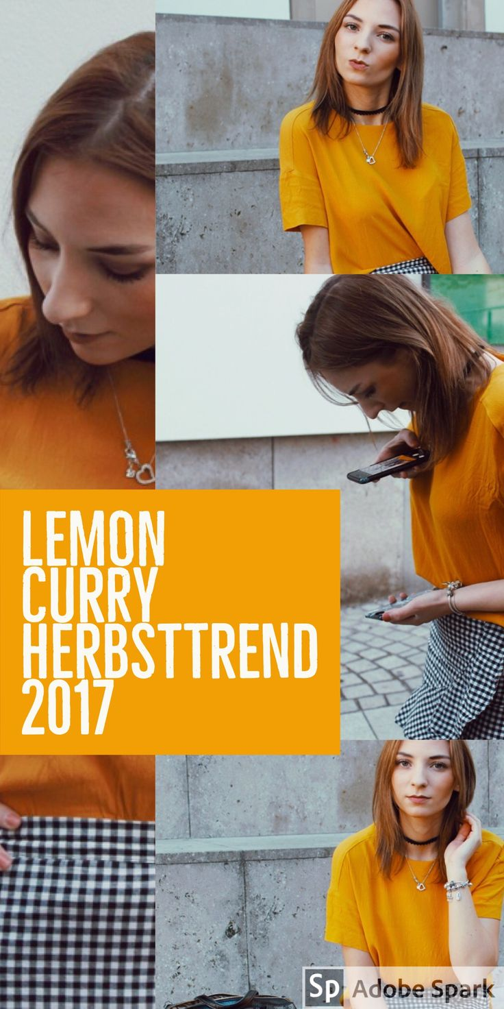 Lemon Curry – eine der Trendfarben für den Herbst/Winter 2017/2018. Wie stylst du Lemon Curry? Was solltest du nun in Lemon Curry shoppen? Du bist auf der Suche nach Herbstinspiration für deinen Herbstlook? Du brauchst ein bisschen Inspiration für deine Herbstoutfits? Dann solltest du diesen Beitrag unbedingt lesen, denn er liefert dir jede Menge Herbstinspiration