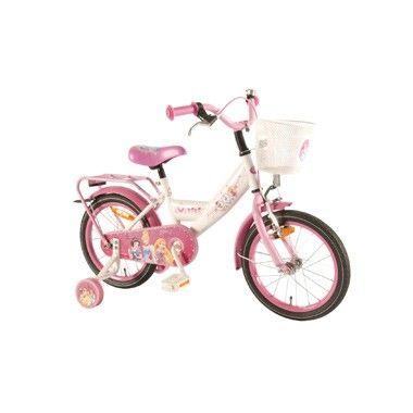 Disney Princess meisjesfiets - 16 inch - wit/roze  Sprookjesachtige fiets voor meisjes van Disney Princess! Meisjes leren op een veilige manier fietsen met deze prachtige roze kinderfiets met afneembare zijwielen.  EUR 177.49  Meer informatie