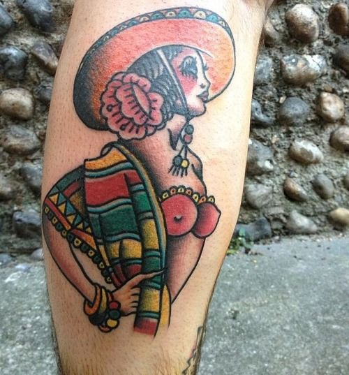 38 best images about tattoo traditional pinups on for Traditional pin up tattoos