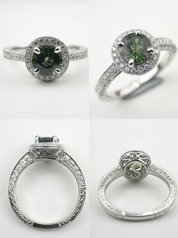 Timeless Beauty: Antique Style Engagement Rings from Topazery