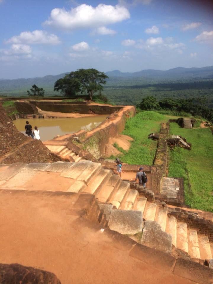 Sigiriya - King's Pool and Steps