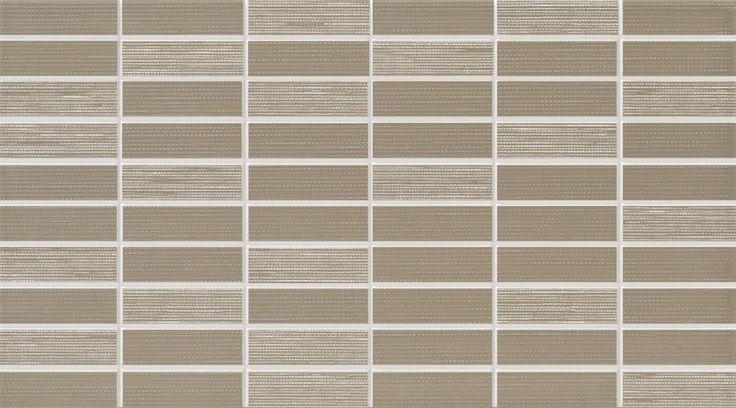 #Dado #Mosaik #Verve Tortora 25x45 cm 301510 | Feinsteinzeug | im Angebot auf #bad39.de 20 Euro/qm | #Mosaik #Bad #Küche