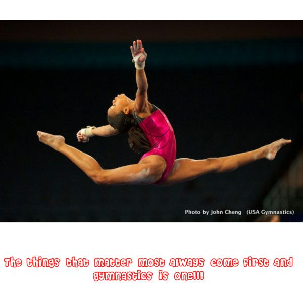 Gymnastics is awesome!!!