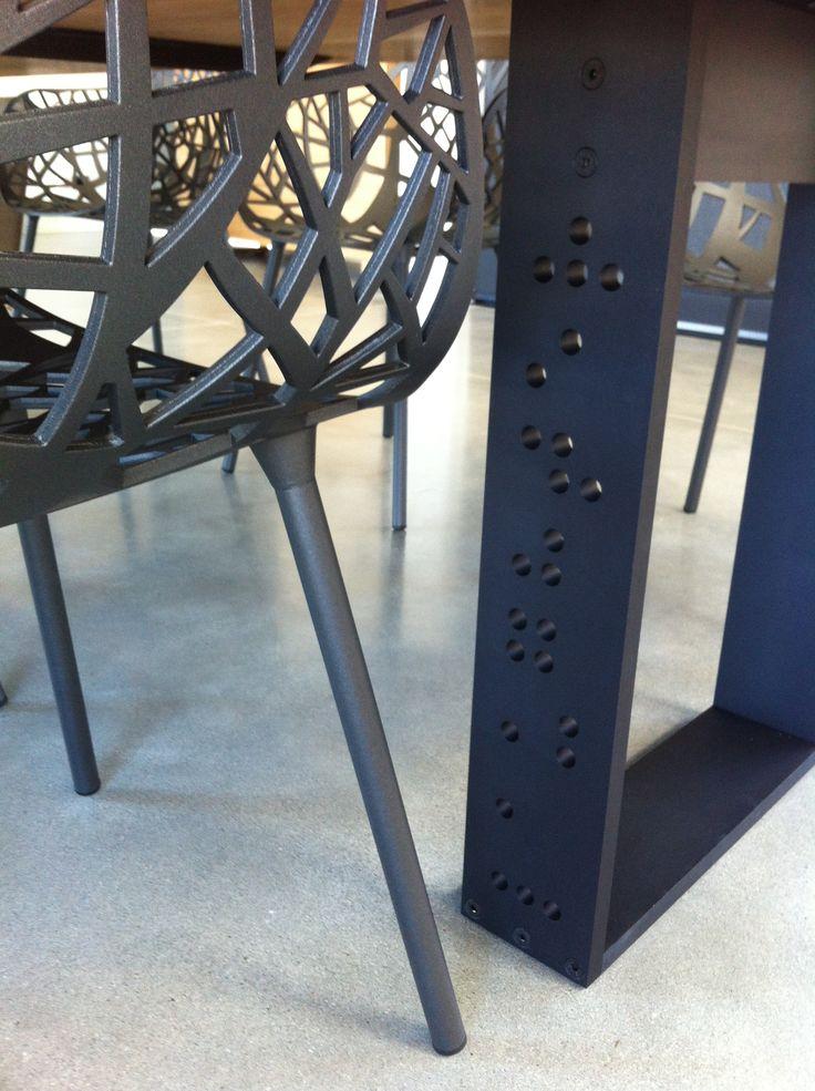 Leg detail by Cruikshank