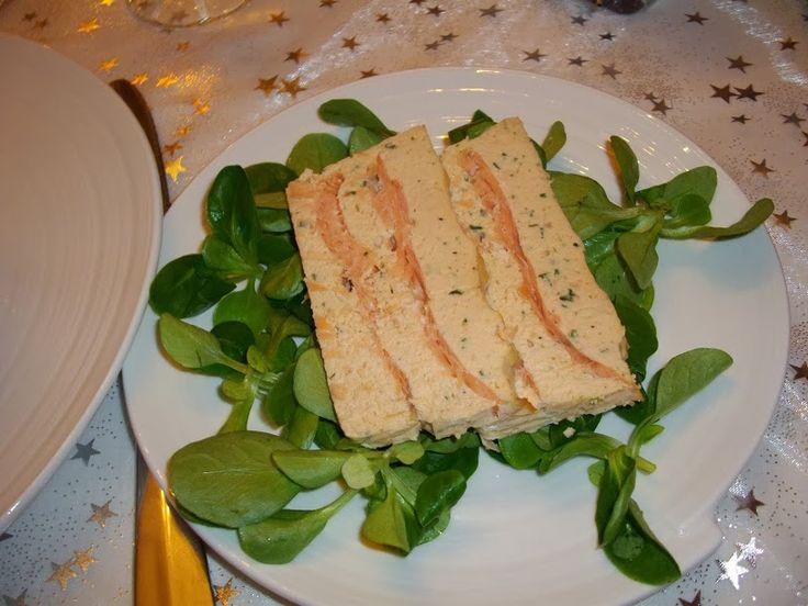 Malène aux fourneaux: Terrine aux 2 saumons - 2PP / tranche