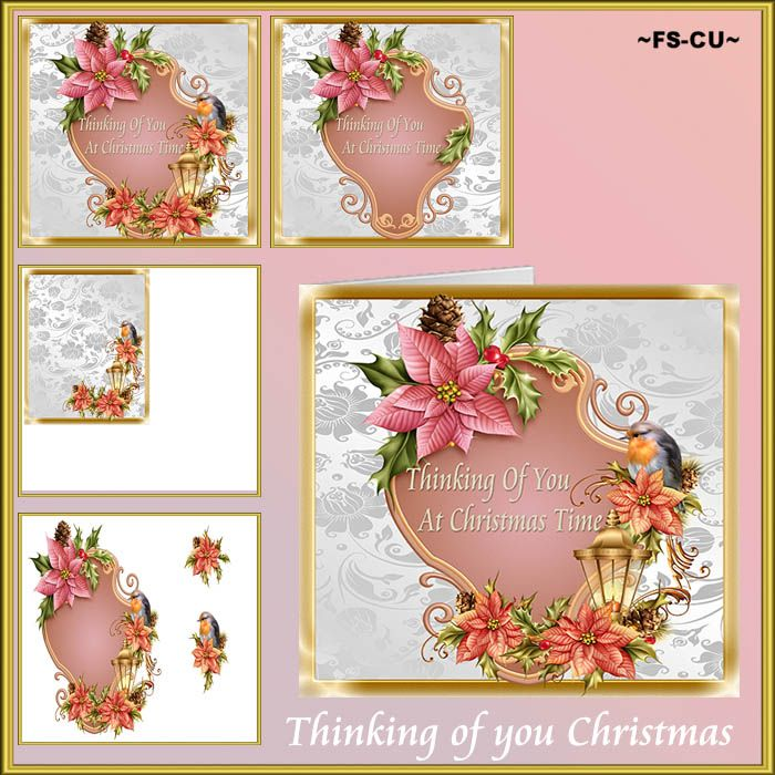 Thinking of you Christmas CU (Card Making) [kaysha- thinking of you christma] : Scrap and Tubes Store, Digital Scrapbooking Supplies