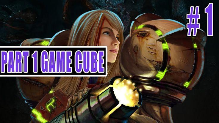 تختيم لعبة Metroid Prime الحلقة 1 / Metroid Prime GameCube Gameplay Part1