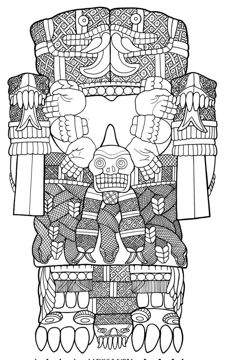 La eCoatlicue es considerada por los Aztecas como la madre de todos los dioses, y esta es la la primera similitud que encontramos con la v...