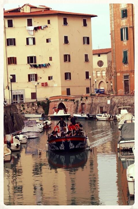 Livorno. Alla scoperta della città sul battello Marco Polo.