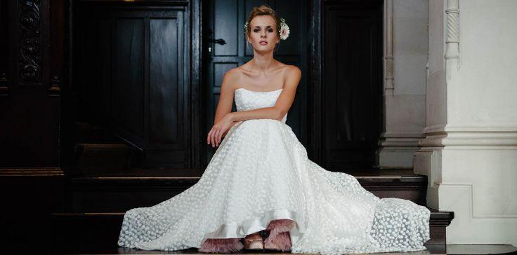 Brautkleid Corsage – märchenhafte Spitze – Schneeweisschen