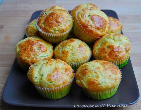 Muffin allo speck e zucchine http://blog.giallozafferano.it/lacucinadihanneke/muffin-allo-speck-e-zucchine/