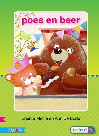 Veilig leren lezen - poes en beer (digitaal boekje)
