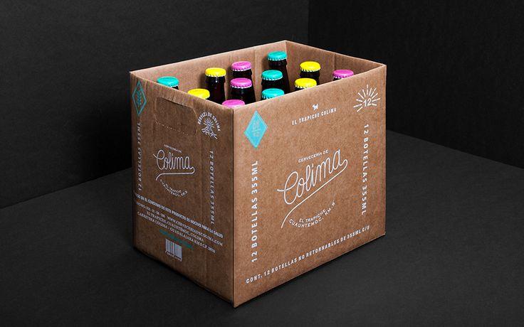 Cervecería de Colima on Behance