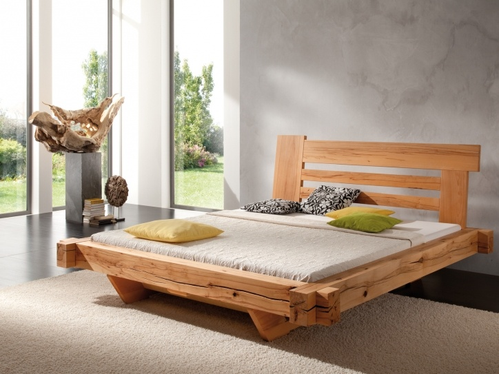 Beau BALKENBETT Relax   Modern Wood Bed Designs