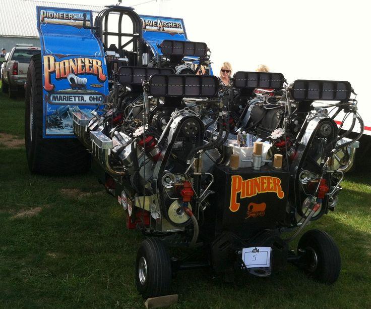 Super Stock Tractor Pulling Engines : Truck pulling motors impremedia