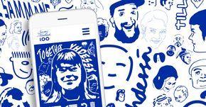 Tee sinäkin omat Suomi 100 -juhlavuoden kasvot! Suomen kasvot ‑kuvasovelluksella muokkaat selfiestäsi erilaisia piirrosversioita. Kokeile, miltä sinun kasvosi näyttävät osana juhlavuoden kuvitusta.