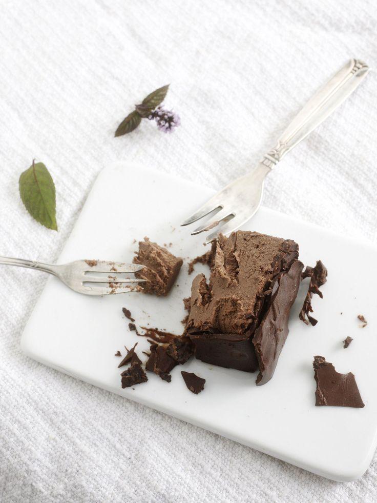 Mint chocolate cake from my book Hyvää huomenta ( Good morning )
