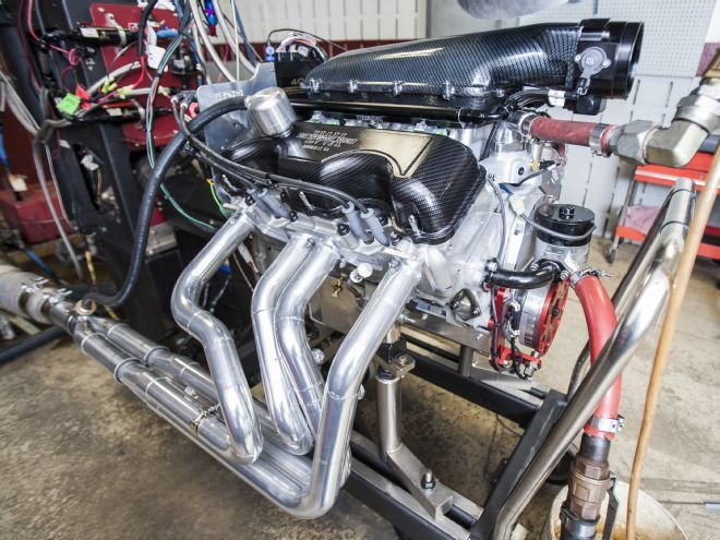 409 Chevy from Lamar Walden Automotive at the Amsoil Engine Masters Challenge 2014, With Video
