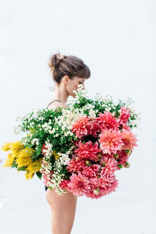 Best Florals Images On Pinterest Flowers Flower Power And - Artist turns nyc trash cans into giant flower filled vases
