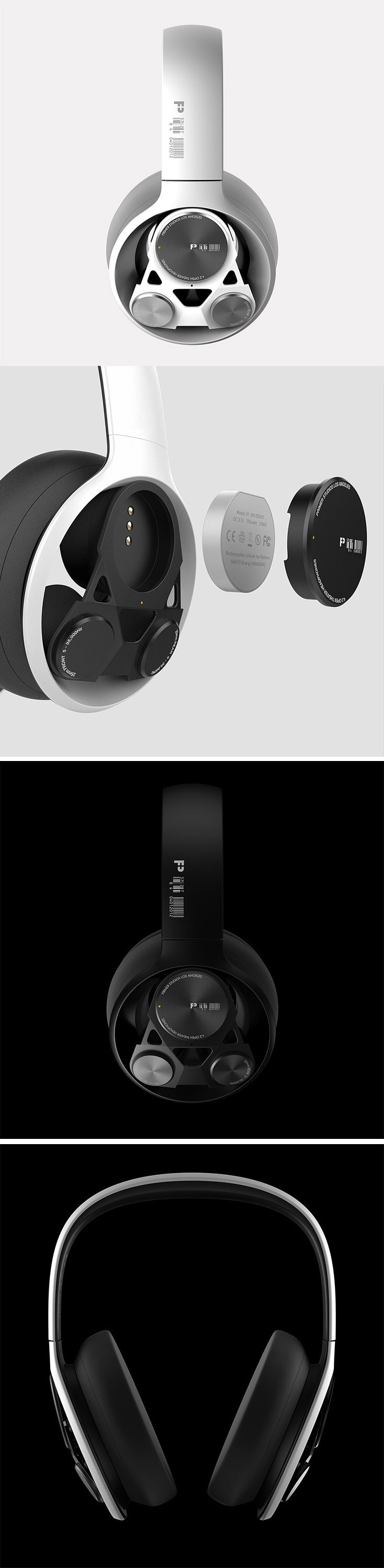 P-42 headphones will ensure no enemies are sneaking up behind you during a game! The designers at Primer Studios have engineered a Multi-Driver 4.2 Wireless Surround Sound Headset which utilizes two forward mounted 25mm drivers, two 20mm rear mounted drivers, as well as two 50mm centrally located base drivers to accurately reproduce true location-base surround sound.