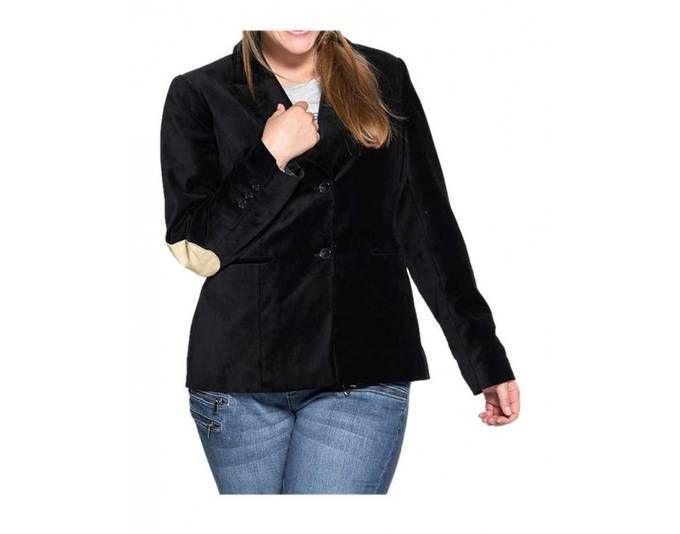 Sheego Damen Samtblazer, schwarz Jetzt bestellen unter: https://mode.ladendirekt.de/damen/bekleidung/blazer/sonstige-blazer/?uid=21c03376-ed4d-5151-a238-fc2ee28163af&utm_source=pinterest&utm_medium=pin&utm_campaign=boards #sonstigeblazer #blazer #bekleidung