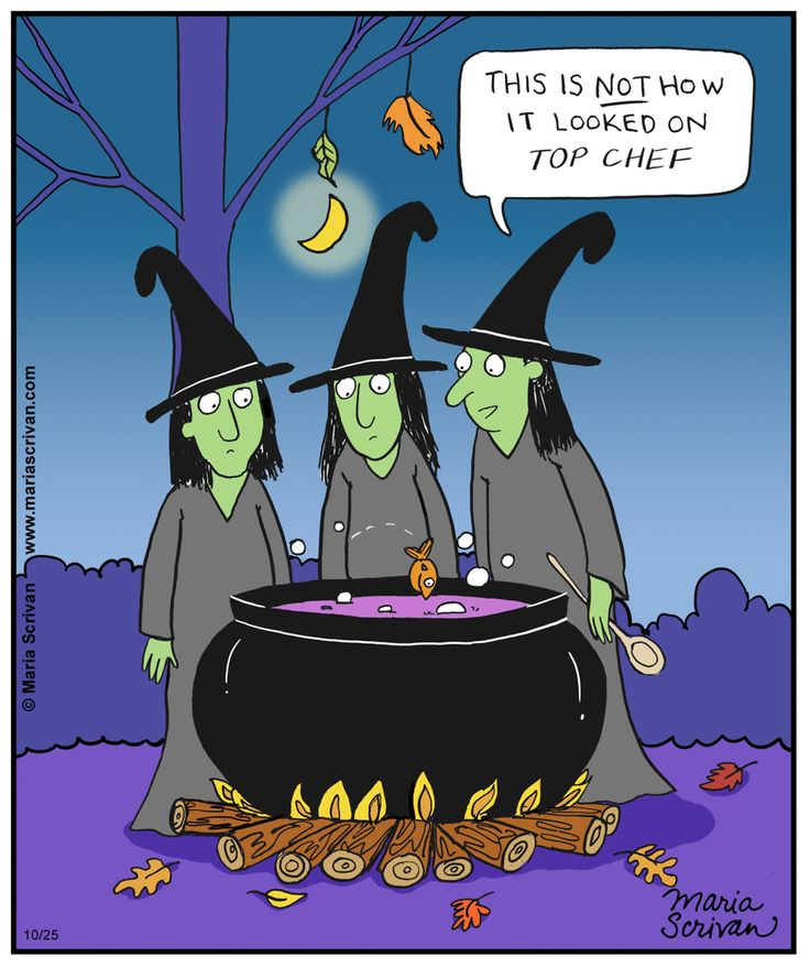 Прикольных костюмов, ведьма прикол картинка