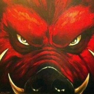 Razorback Art. Go Hogs!