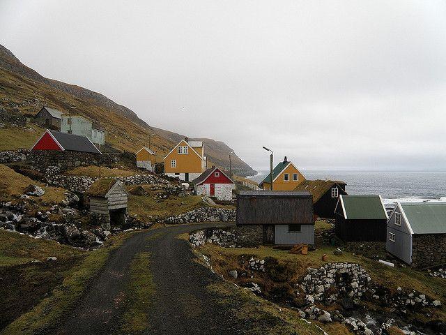 Skarvanes - a Village on Sandoy, Faroe Islands | Flickr