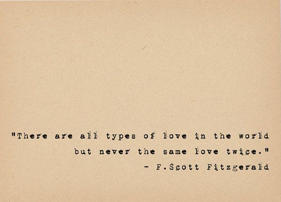 F Scott Fitzgerald Quote  Literary Art Quote Print  by foxedprints