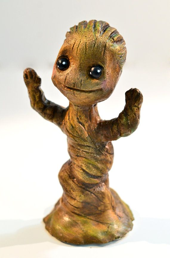 Baby Groot I Am Groot Baby Groot Figure By Worldofvog On Etsy 40 00