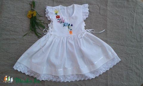 kalocsai hímzett lányka ruha (peteryeva) - Meska.hu