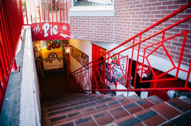 The Pie Pizzeria has five locations now, but it all started in this humble basement restaurant near the University of Utah.