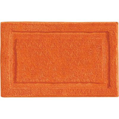 InterDesign Orange Bath Mat