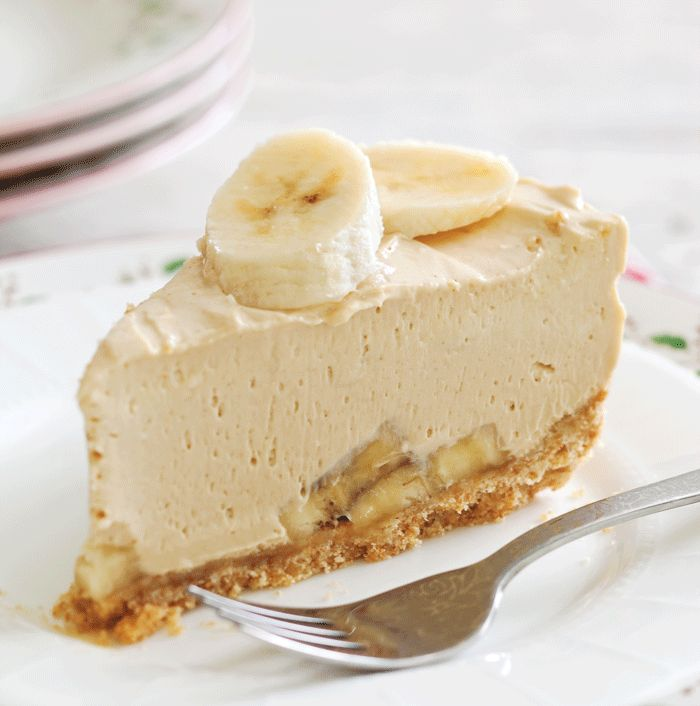 Peanut Butter-Banana Cheesecake Recipe - Taste of the South Magazine