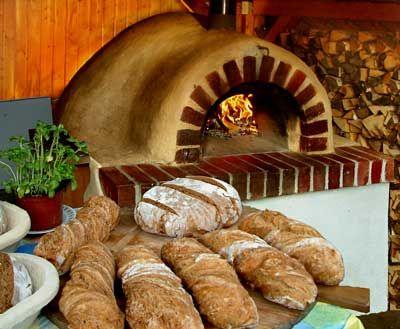 Brotbackofen Pizzaofen bauen