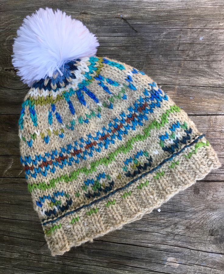 54 best Fair isle hats loopsnswoops images on Pinterest | Hats ...