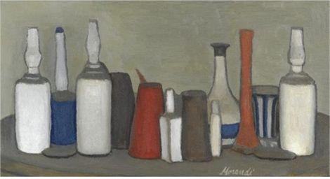 Giorgio Morandi, Natura morta on ArtStack #giorgio-morandi #art